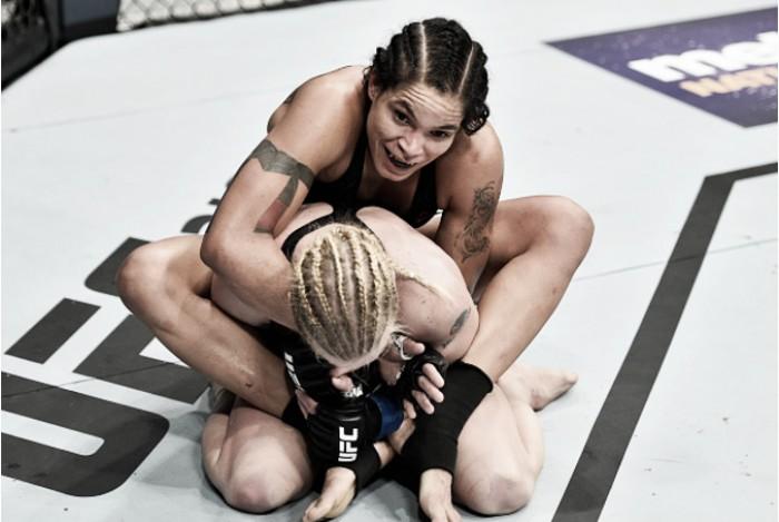 Em combate tenso, Amanda Nunes supera Shevchenko por decisão dividida e mantém cinturão
