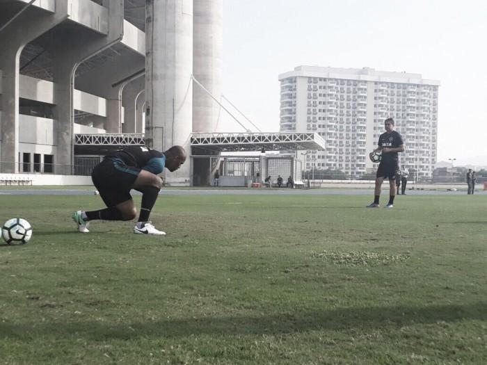 Em jogo-treino, Botafogo bate Bangu e Jefferson segue próximo de retornar