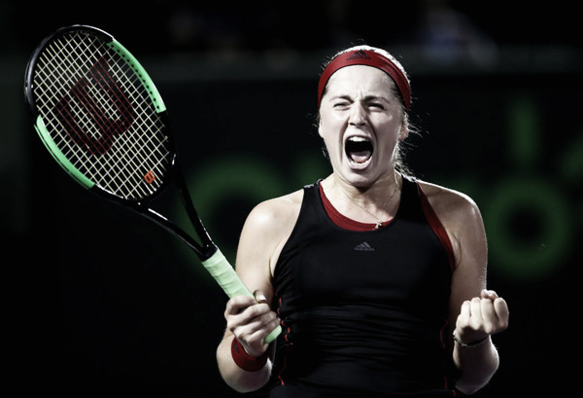 WTA Miami: Jelena Ostapenko survives Collins test, reaches first final of 2018