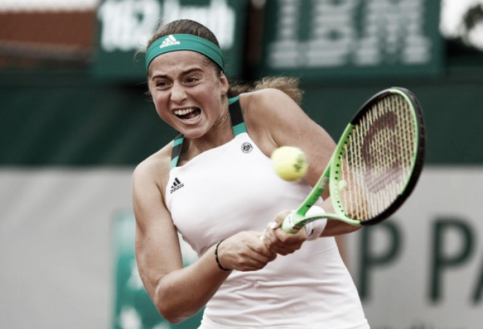 French Open: Jelena Ostapenko produces masterclass to record best performance in Paris