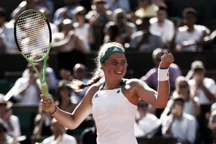 French Open: Jelena Ostapenko survives to reach first career Grand Slam final