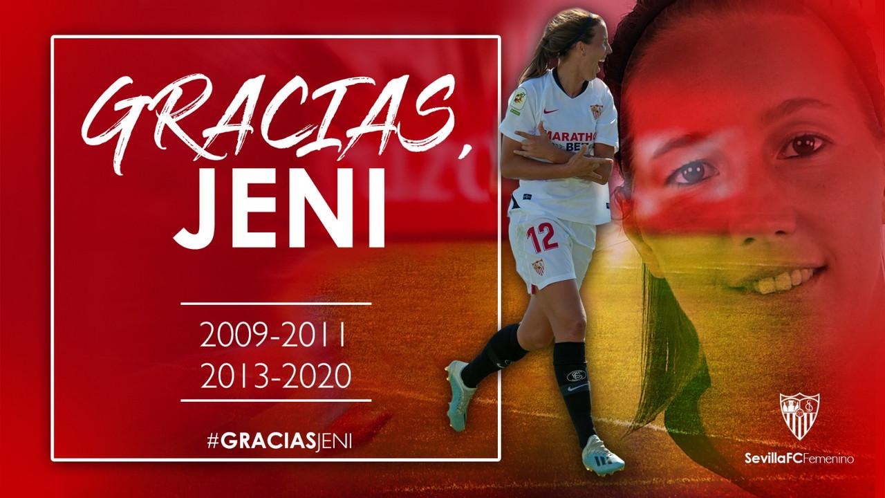 Jennifer Morilla pone punto y final a su etapa en el Sevilla