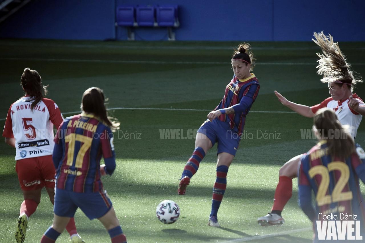"""Jennifer Hermoso: """"Es todo un honor para mí formar parte de la historia del Barça"""""""
