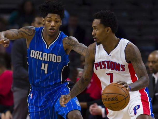 Pistons Top Magic In A Historic Night For Brandon Jennings