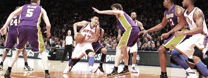 Un fantástico Jeremy Lin derrota a los Lakers (92-85)