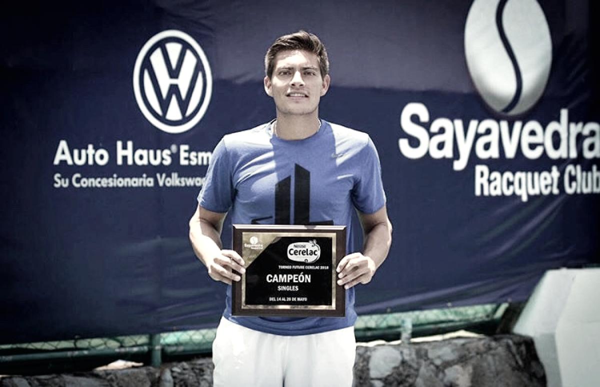 Primer título profesional para Gerardo López