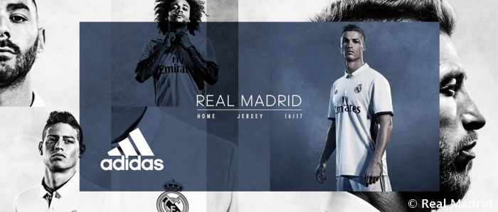 Real Madrid apresenta novos uniformes para temporada 2016/2017