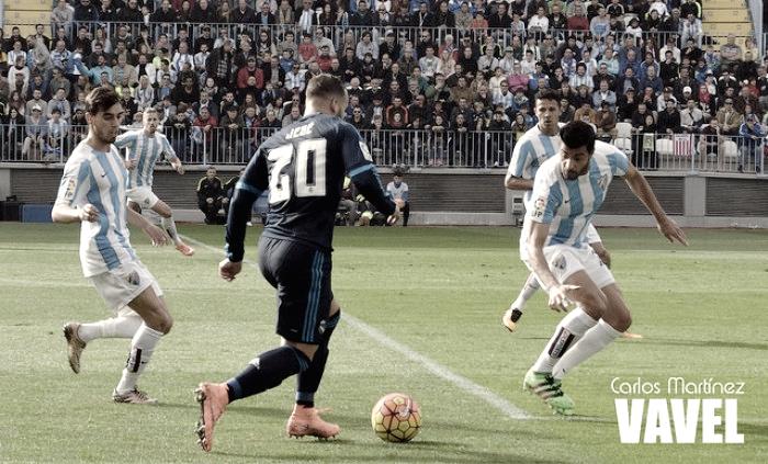 ¿Que hizo el Málagaen su último partido contra el Madrid en la Rosaleda?