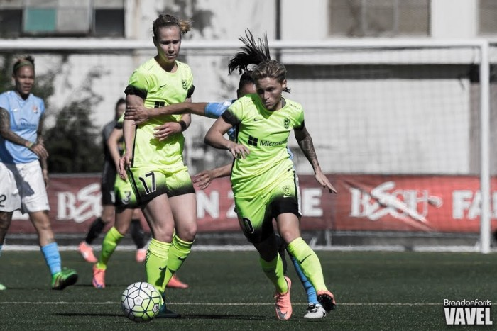 Seattle Reign midfielder Jess Fishlock out four to six weeks with a left tibia fracture