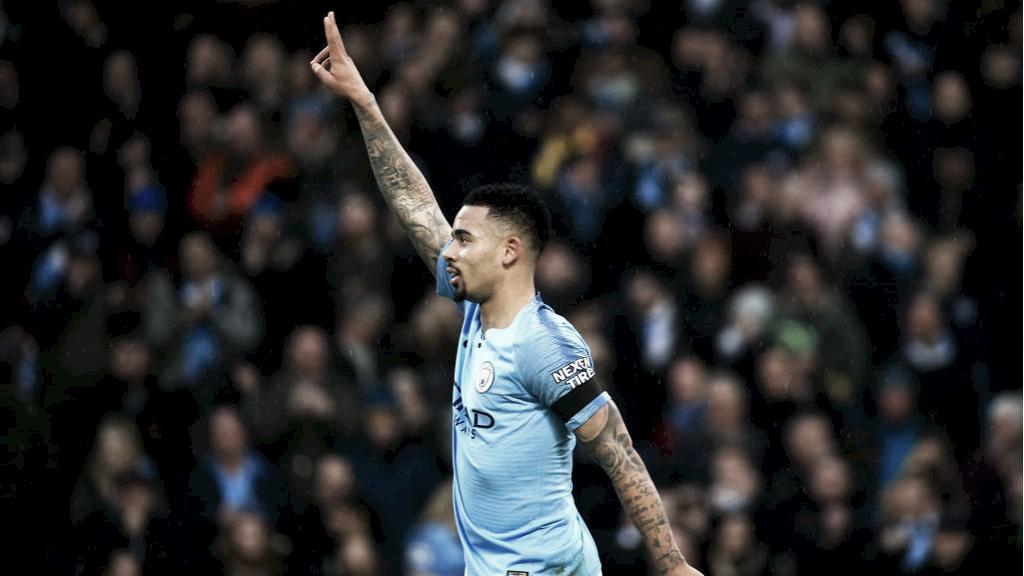 """Gabriel Jesus exalta bom momento no Manchester City: """"Trabalho duro"""""""