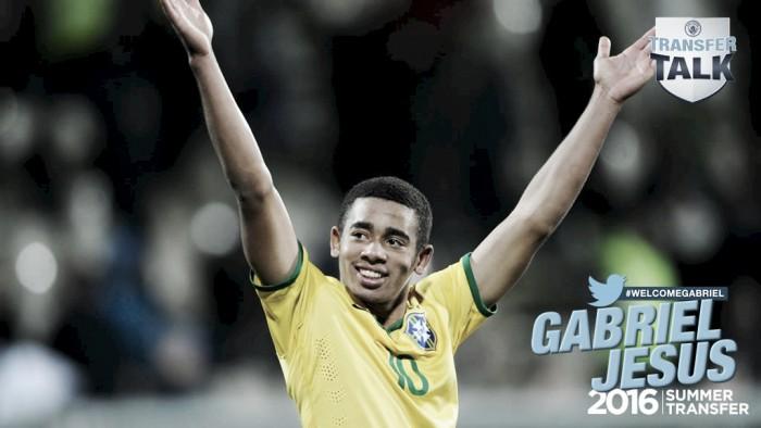 Manchester City encerra novela e anuncia contratação de Gabriel Jesus junto ao Palmeiras