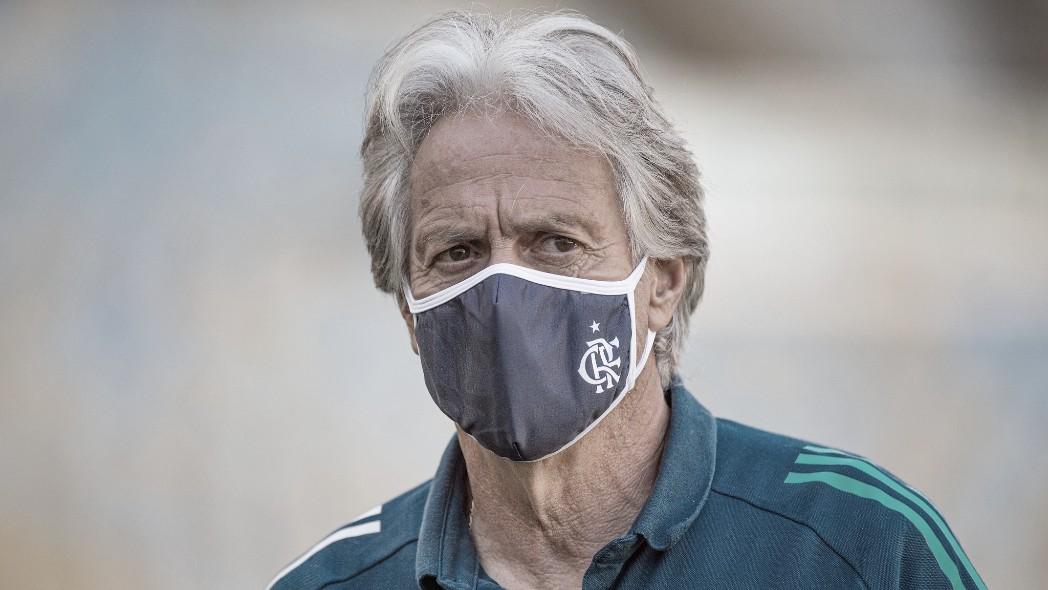 """Jorge Jesus projeta final diante do Fluminense: """"Que seja um jogo digno da rivalidade"""""""
