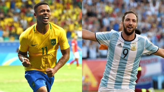 Gabriel Jesús vs Higuaín: la cuota del gol