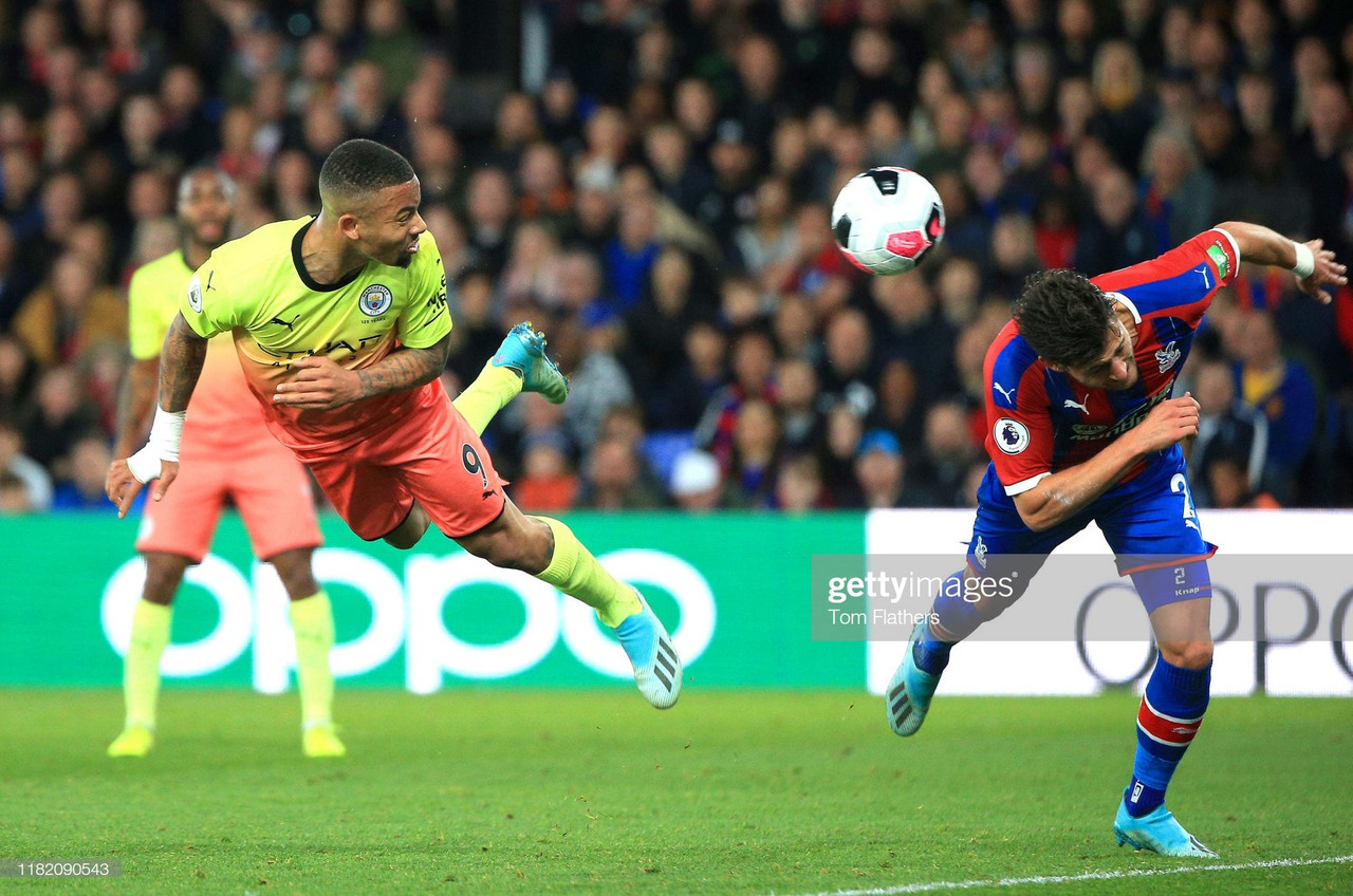 Crystal Palace 0-2 Manchester City: Quick-fire double sees Citizens put pressure back on Liverpool