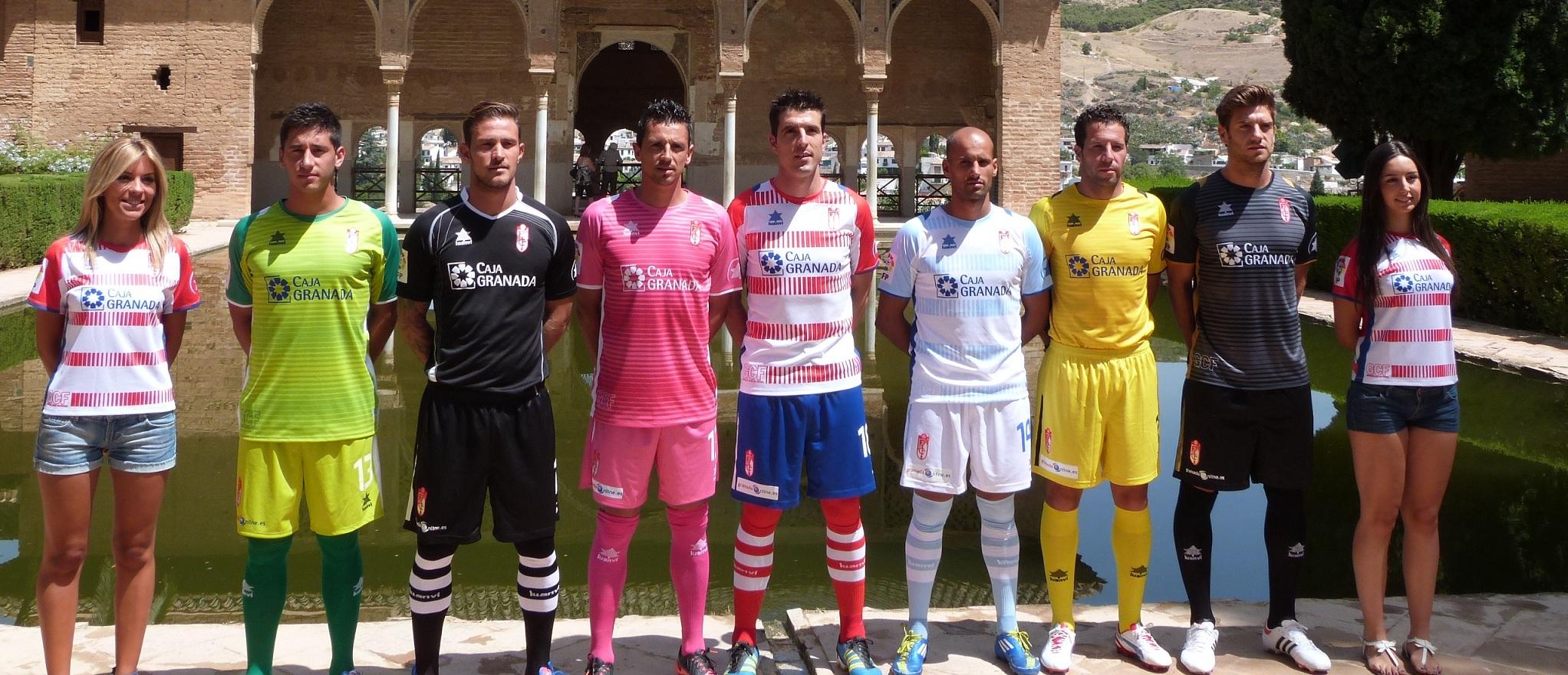 El Granada CF presenta sus equipaciones para la temporada 2012/2013