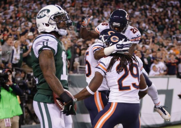 Chicago Bears Hold On To Defeat New York Jets