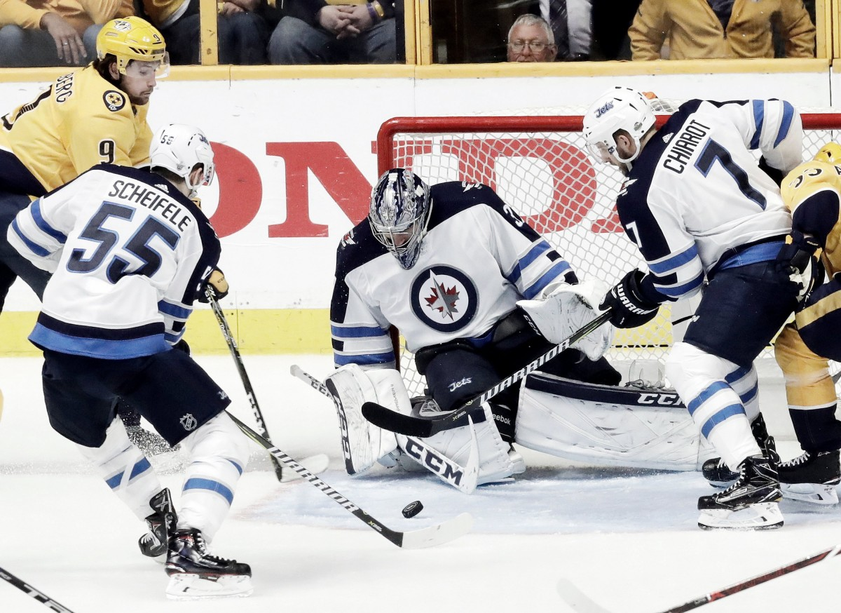 Nashville Predators drop Game 1 to Winnipeg Jets
