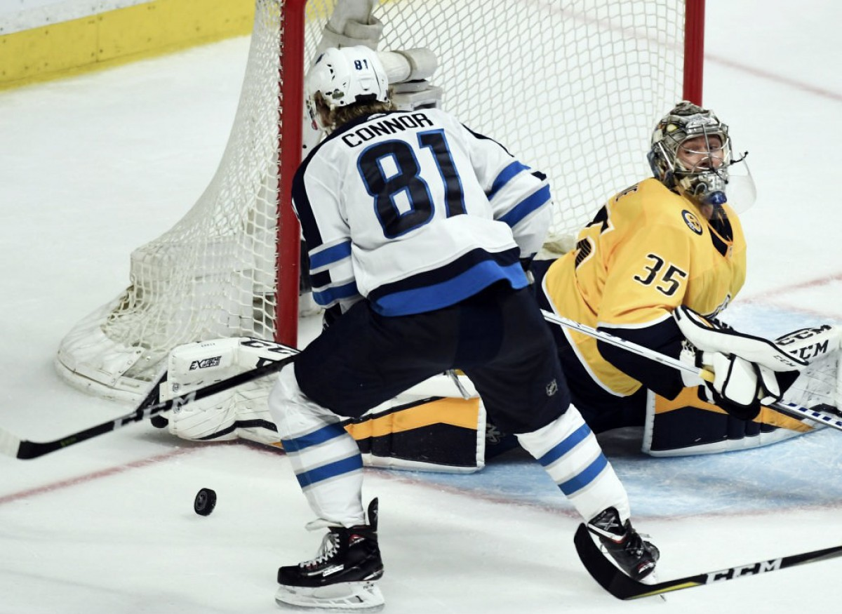 Winnipeg Jets rally past Nashville Predators with four-goal outburst