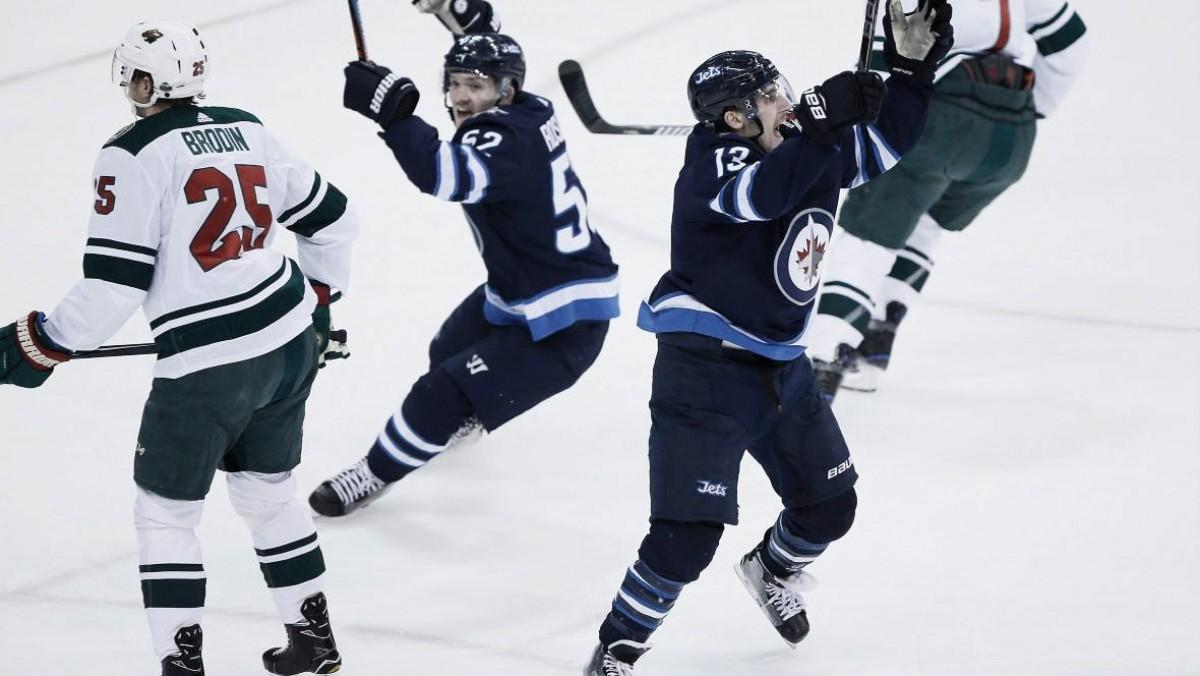 Winnipeg Jets destroy Minnesota Wild to advance to second round