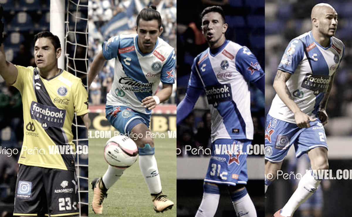 El Club Puebla anuncia su lista de bajas para el próximo torneo