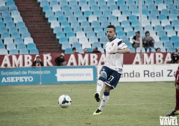"""Fernández: """"No veo otro futuro que no sea en el Real Zaragoza"""""""