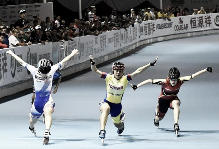 Colombia 'dorada' en los World Roller Games