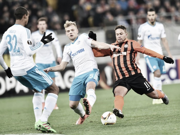 Shakhtar Donetsk 0-0 Schalke 04: Deadlock in Lyiv leaves tie wide open ahead of second leg