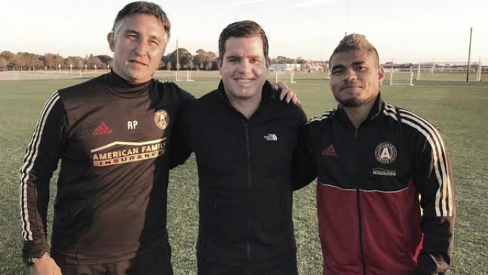 """Josef Martínez: """"Espero jugar y ser feliz acá"""""""