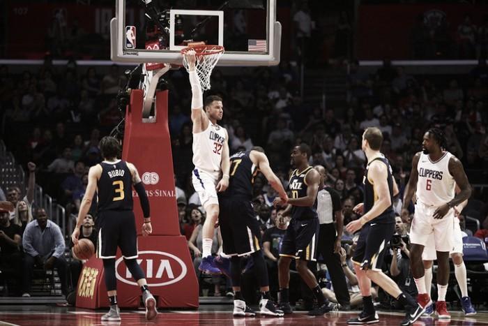 Em noite inspirada de Blake Griffin, Los Angeles Clippers derrota Utah Jazz
