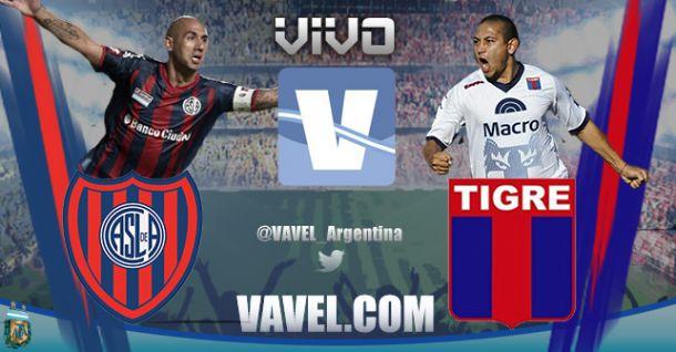 Tigre vs San Lorenzo en vivo hoy por Torneo de la Independencia (0-0)
