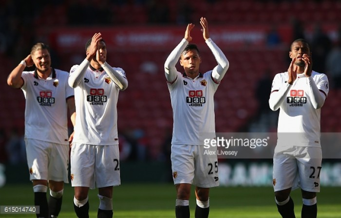 Mazzarri encourages Holebas and Capoue to argue
