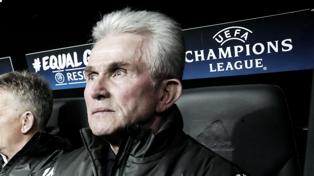 "Jupp Heynckes lamenta eliminação do Bayern: ""Merecíamos avançar para a final"""