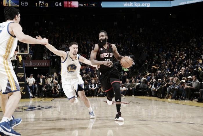 Nba, i Rockets la spuntano dopo due overtime contro Golden State (127-132)