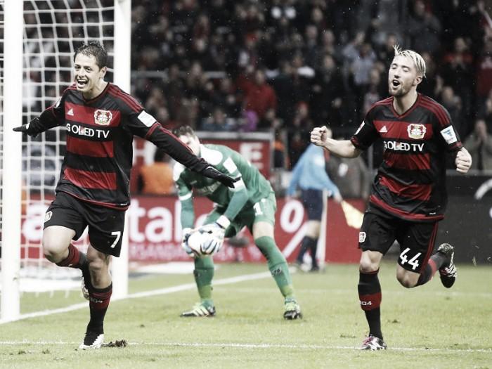 Bayer Leverkusen 3-0 Hannover 96: Hernandez double downs Hannover