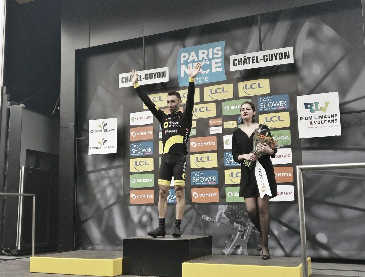 Parigi-Nizza, guizzo Hivert nella terza tappa. Sanchez nuovo leader