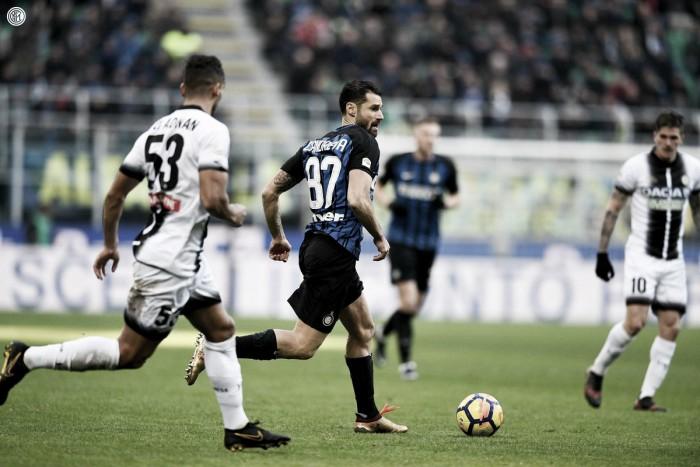 El Udinese acaba con la condición de invicto del Inter