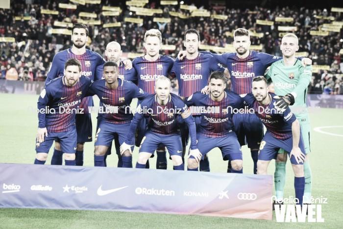FC Barcelona – RC Celta: Puntuaciones del Barcelona, vuelta octavos de Copa S.M. El Rey
