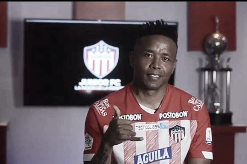 Jhon Pajoy, nuevo jugador del Junior de Barranquilla
