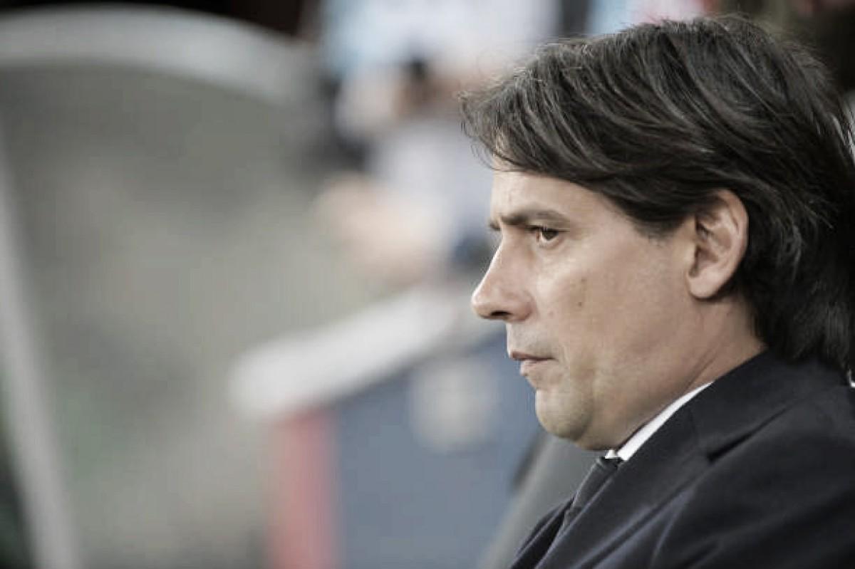 """Simone Inzaghi comenta sobre eliminação histórica contra Salzburg: """"Vai servir como lição"""""""