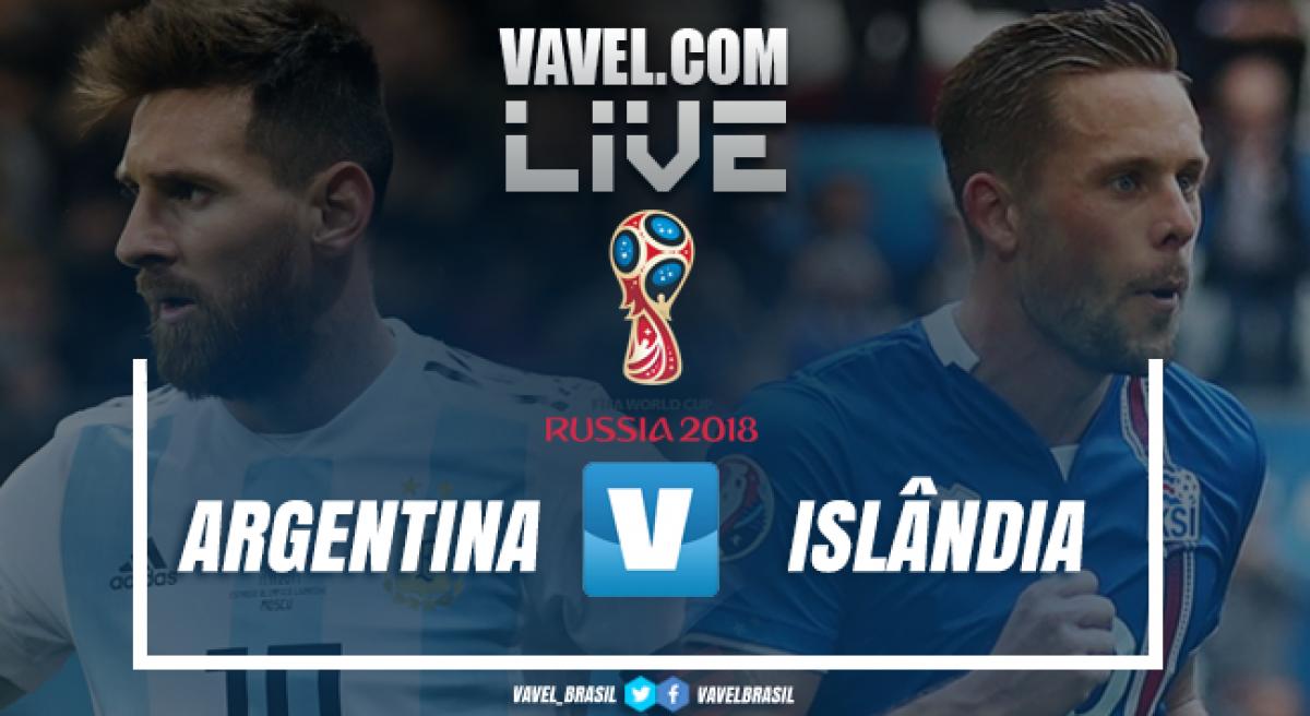 Resultado de imagem para - Argentina X Islândia -