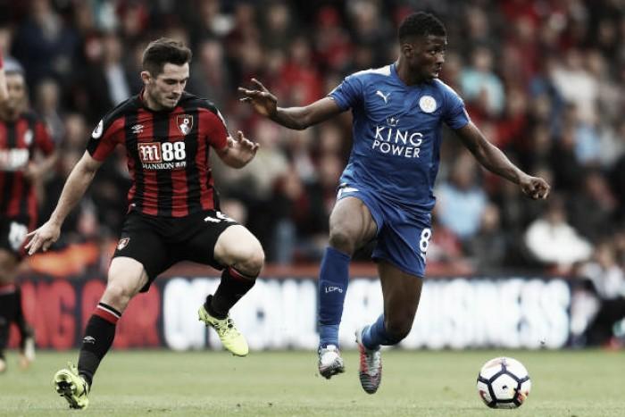 Bornemouth e Leicester empatam e seguem sem empolgar na Premier League
