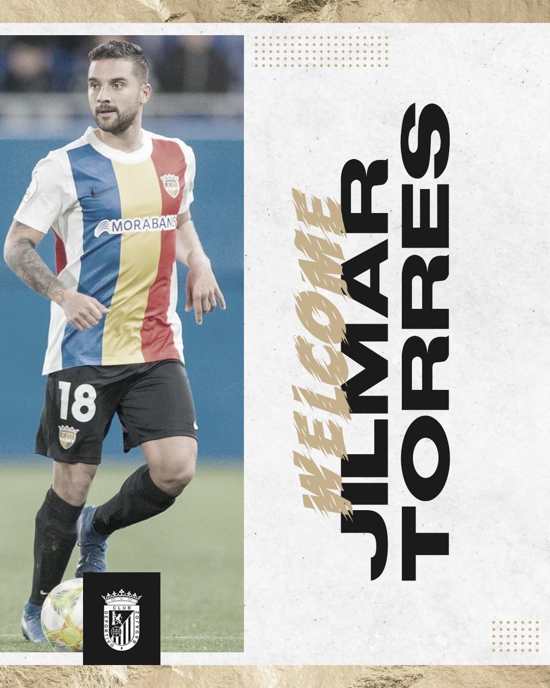El CD Badajoz cierra el lateral izquierdo con Jilmar