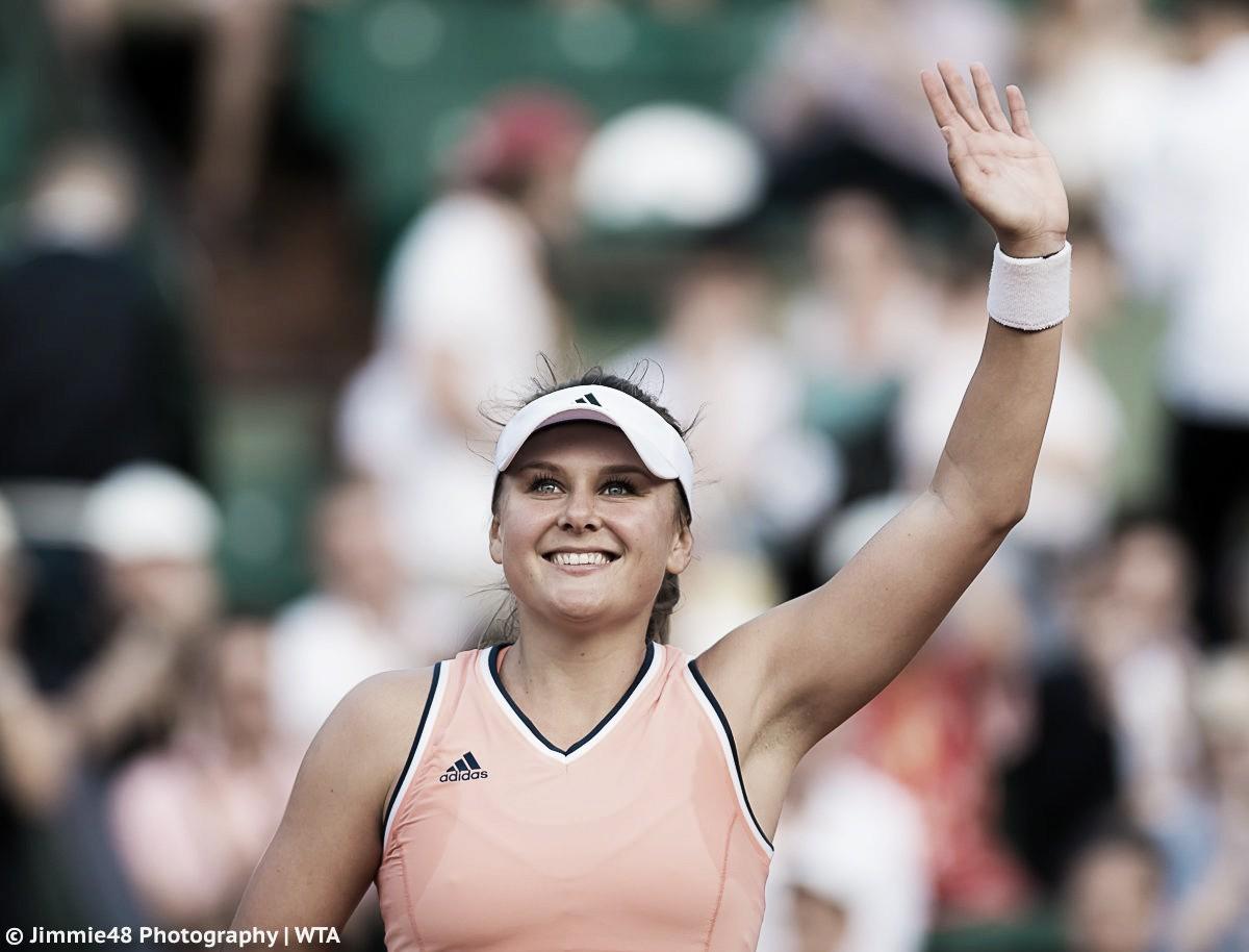 French Open: Kateryna Kozlova stuns defending champion Jelena Ostapenko