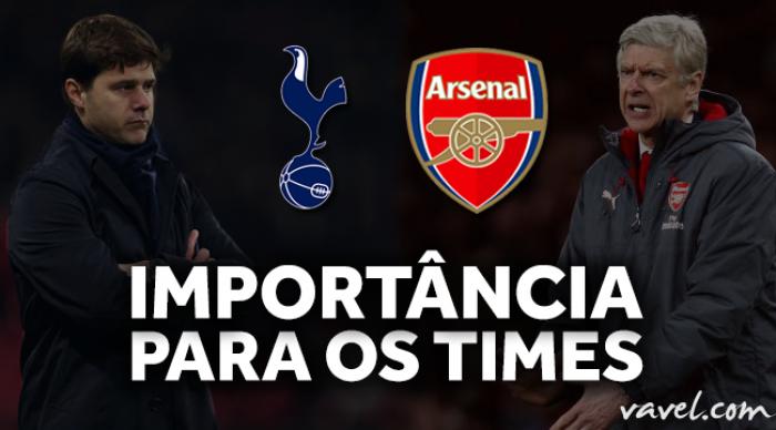 North London Derby: a importância do clássico de sábado para Tottenham e Arsenal