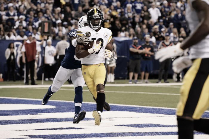 Pittsbugh Steelers come from behind to beat the Indianapolis Colts