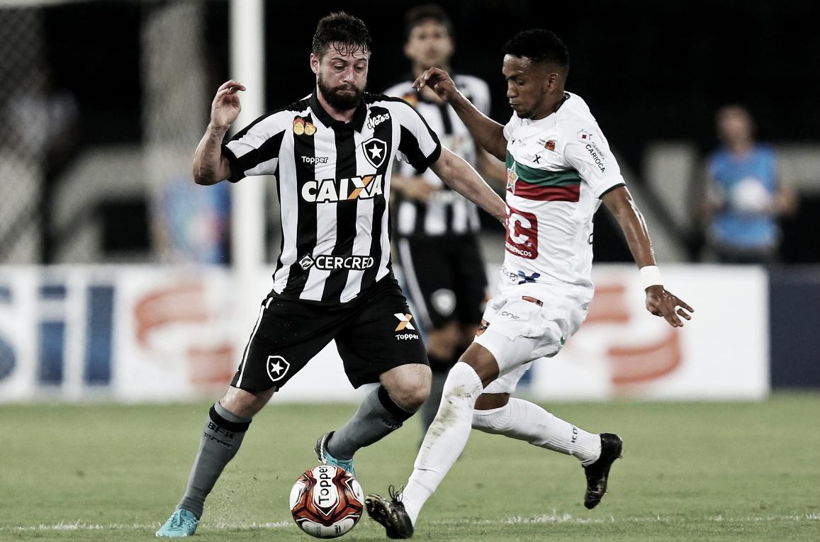 Resultado e gols de Botafogo x Portuguesa pela Taça Rio (4-1)
