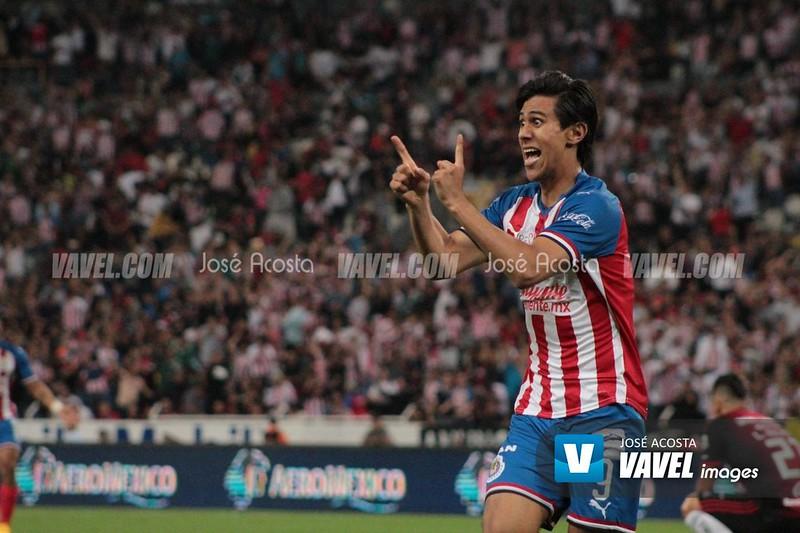 ¿José Juan Macías podrá ser de los mejores goleadores del torneo?