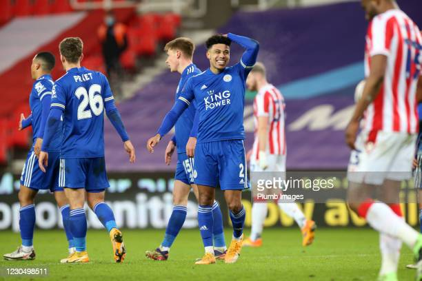 James Justin has been Leicester's Mr Consistent so far this season - Neil Plumb / Getty Images