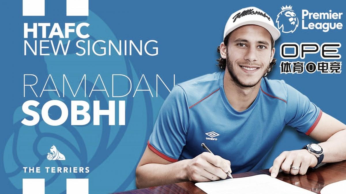 Ramadan Sobhi, nueva incorporación del Huddersfield Town