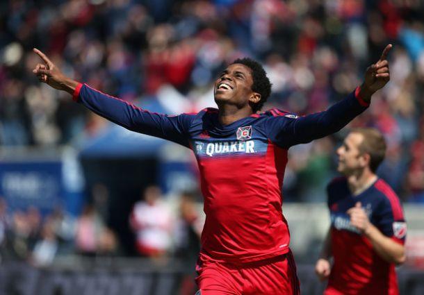 Score Sporting Kansas City vs Chicago Fire In MLS Regular Season 2015 Scores (1-0)